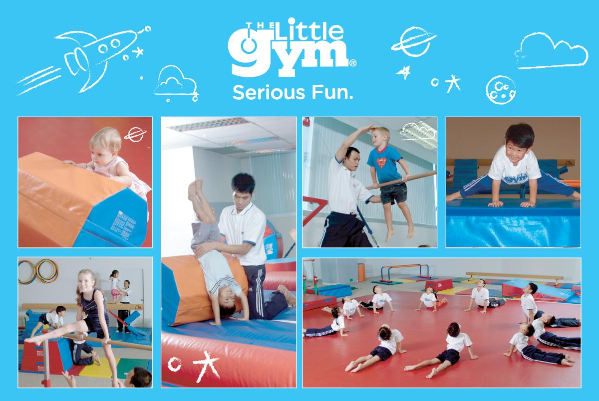 The Little Gym โรงเรียนพัฒนาศักยภาพด้านร่างกายและจิตใจเด็ก